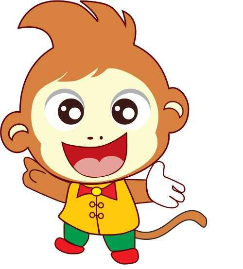 属猴发财树微信头像